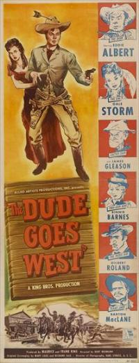 The Dude Goes West - 14 x 36 Movie Poster - Insert Style A