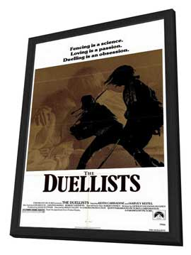 The Duellists - 27 x 40 Movie Poster - Style A - in Deluxe Wood Frame