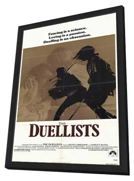 The Duellists - 11 x 17 Movie Poster - Style A - in Deluxe Wood Frame