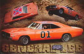 The Dukes of Hazzard - 11 x 17 Movie Poster - Style L