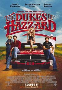The Dukes of Hazzard - 43 x 62 Movie Poster - Bus Shelter Style A
