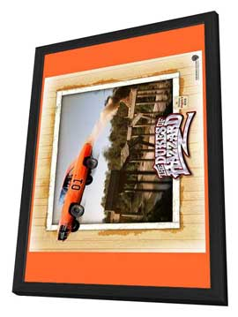The Dukes of Hazzard - 11 x 17 Movie Poster - Style C - in Deluxe Wood Frame
