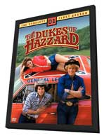 The Dukes of Hazzard (TV) - 11 x 17 TV Poster - Style A - in Deluxe Wood Frame