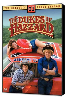 The Dukes of Hazzard (TV) - 11 x 17 TV Poster - Style A - Museum Wrapped Canvas
