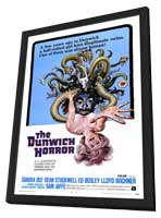 The Dunwich Horror - 27 x 40 Movie Poster - Style A - in Deluxe Wood Frame