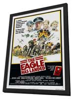 The Eagle Has Landed - 27 x 40 Movie Poster - Style B - in Deluxe Wood Frame