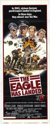The Eagle Has Landed - 14 x 36 Movie Poster - Insert Style A