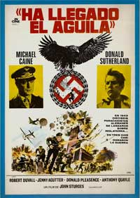 The Eagle Has Landed - 11 x 17 Movie Poster - Spanish Style A