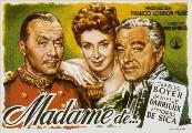 The Earrings of Madame de... - 11 x 17 Movie Poster - Spanish Style A