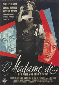 The Earrings of Madame de... - 11 x 17 Movie Poster - German Style A