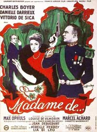 The Earrings of Madame de... - 11 x 17 Movie Poster - French Style A