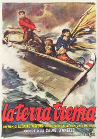 The Earth Trembles - 43 x 62 Movie Poster - Italian Style A