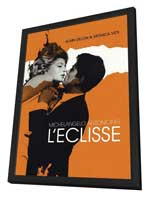The Eclipse - 11 x 17 Movie Poster - French Style B - in Deluxe Wood Frame