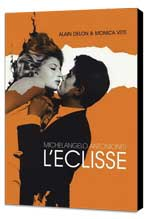 The Eclipse - 11 x 17 Movie Poster - French Style B - Museum Wrapped Canvas