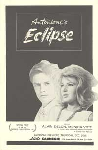 The Eclipse - 11 x 17 Movie Poster - Style A