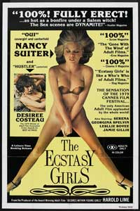 The Ecstasy Girls - 11 x 17 Movie Poster - Style A