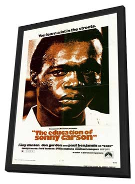 The Education of Sonny Carson - 11 x 17 Movie Poster - Style A - in Deluxe Wood Frame
