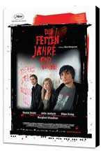 The Edukators - 27 x 40 Movie Poster - German Style A - Museum Wrapped Canvas