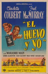 The Egg and I - 27 x 40 Movie Poster - Foreign - Style A