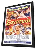 Egyptian, The - 11 x 17 Movie Poster - Style A - in Deluxe Wood Frame