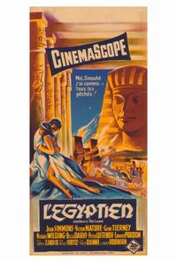 Egyptian, The - 27 x 40 Movie Poster - French Style A