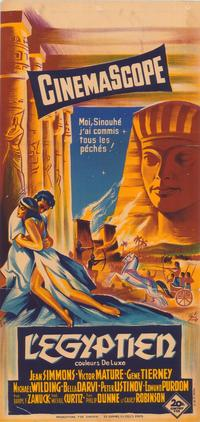 Egyptian, The - 47 x 62 Movie Poster - French Style A