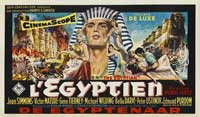 Egyptian, The - 11 x 17 Movie Poster - French Style B