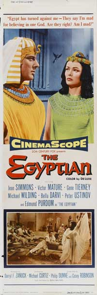 Egyptian, The - 14 x 36 Movie Poster - Insert Style A