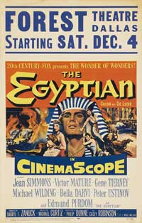 Egyptian, The - 27 x 40 Movie Poster - Style A