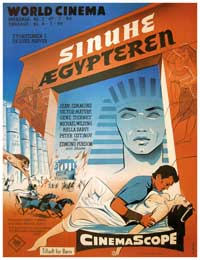 Egyptian, The - 11 x 17 Movie Poster - Danish Style A