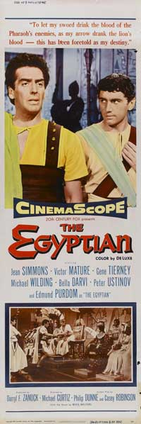 Egyptian, The - 14 x 36 Movie Poster - Insert Style B