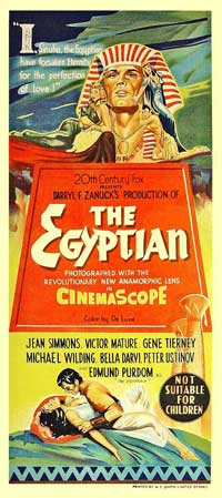 Egyptian, The - 13 x 30 Movie Poster - Australian Style A