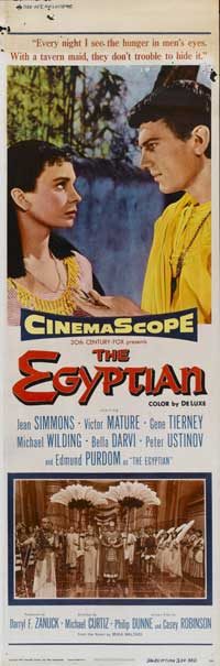 Egyptian, The - 14 x 36 Movie Poster - Insert Style C