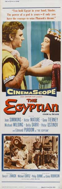 Egyptian, The - 14 x 36 Movie Poster - Insert Style D