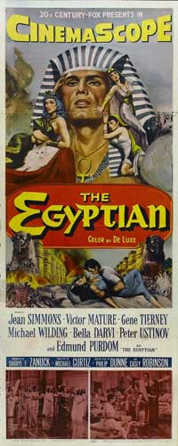 Egyptian, The - 14 x 36 Movie Poster - Insert Style F