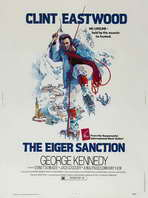 The Eiger Sanction - 27 x 40 Movie Poster - Style C