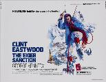 The Eiger Sanction - 30 x 40 Movie Poster UK - Style A