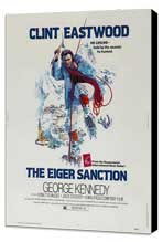 The Eiger Sanction - 27 x 40 Movie Poster - Style C - Museum Wrapped Canvas