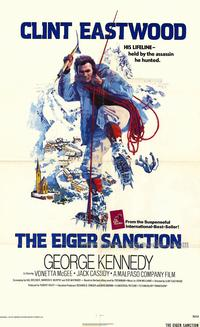 The Eiger Sanction - 43 x 62 Movie Poster - Bus Shelter Style A