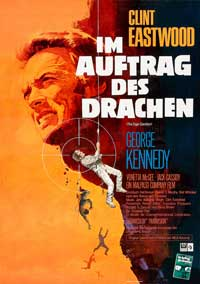 The Eiger Sanction - 11 x 17 Movie Poster - German Style A