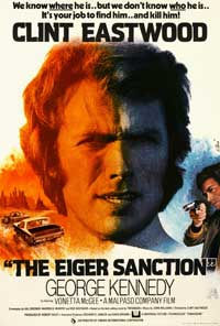 The Eiger Sanction - 11 x 17 Movie Poster - Style D