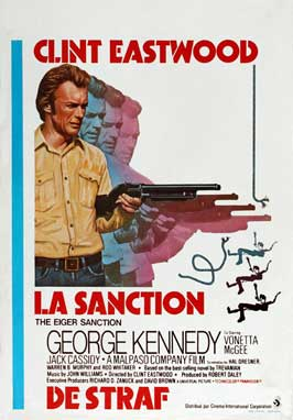 The Eiger Sanction - 11 x 17 Movie Poster - Belgian Style A