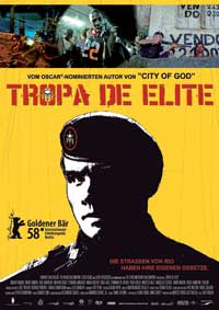 The Elite Squad - 11 x 17 Movie Poster - German Style A