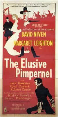 The Elusive Pimpernel - 11 x 17 Movie Poster - Style A