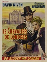 The Elusive Pimpernel - 27 x 40 Movie Poster - Belgian Style A