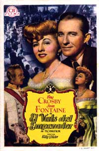 The Emperor Waltz - 27 x 40 Movie Poster - Spanish Style A