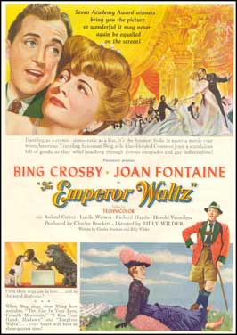 The Emperor Waltz - 11 x 17 Movie Poster - Style B