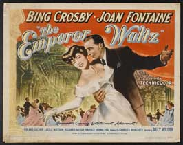 The Emperor Waltz - 11 x 14 Movie Poster - Style B
