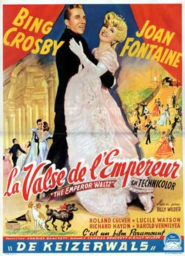 The Emperor Waltz - 27 x 40 Movie Poster - Belgian Style A