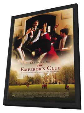 The Emperors Club - 11 x 17 Movie Poster - Style A - in Deluxe Wood Frame